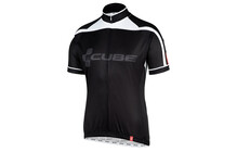 Cube Blackline maillot manches courtes noir/gris/blanc